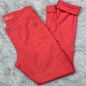 💫Old Navy / Coral Mid-Rise Pants.